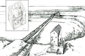 древние сооружения I в. до н.э.