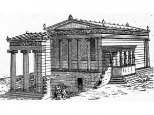 древние сооружения (421-415 и 409-406 до н.э.)