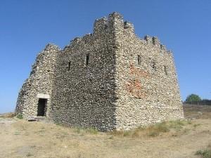 Башня на территории Неаполя Скифского