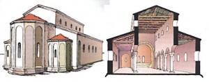 Базилика 10-11 вв