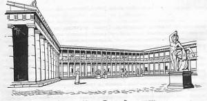 Алтарь Зевса акрополь