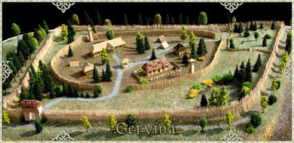 Модель проекта поселения Gervina(Германия)