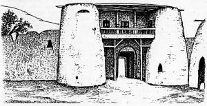 древние сооружения XVIII