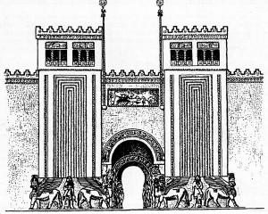 древние сооружения II - VIII в.д.н.э.