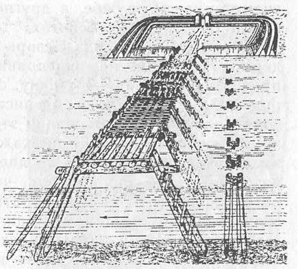 Мост Цезаря через Рейн