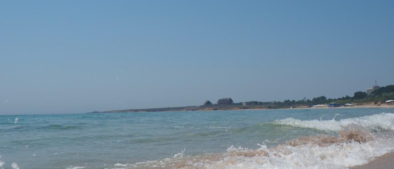 пляж Тарханкут