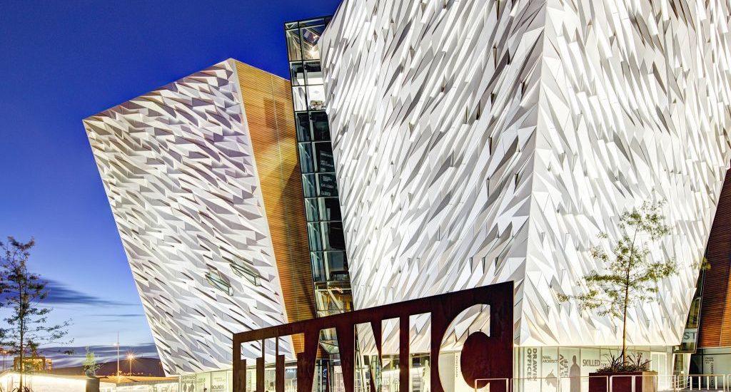 музей Титанику в Белфасте
