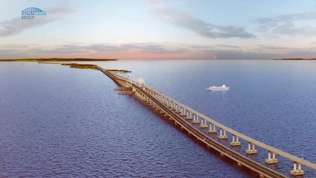 Космически красиво Крымский мост